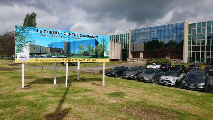 """Le projet du """"Phénix"""", destiné à redonner vie à l'emblématique bâtiment de l'ex-Crédit agricole, est en travail depuis plus d'un an."""