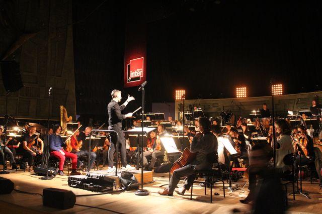 Répétitions du concert Ed Banger Symphonie