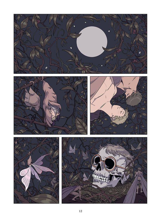 """Page 12 du """"Patient"""" de Thimoté Le Boucher"""