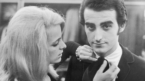 Dick Rivers et son épouse Micheline David et son épouse en 1965.
