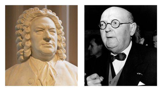 Bach et Georges Duhamel