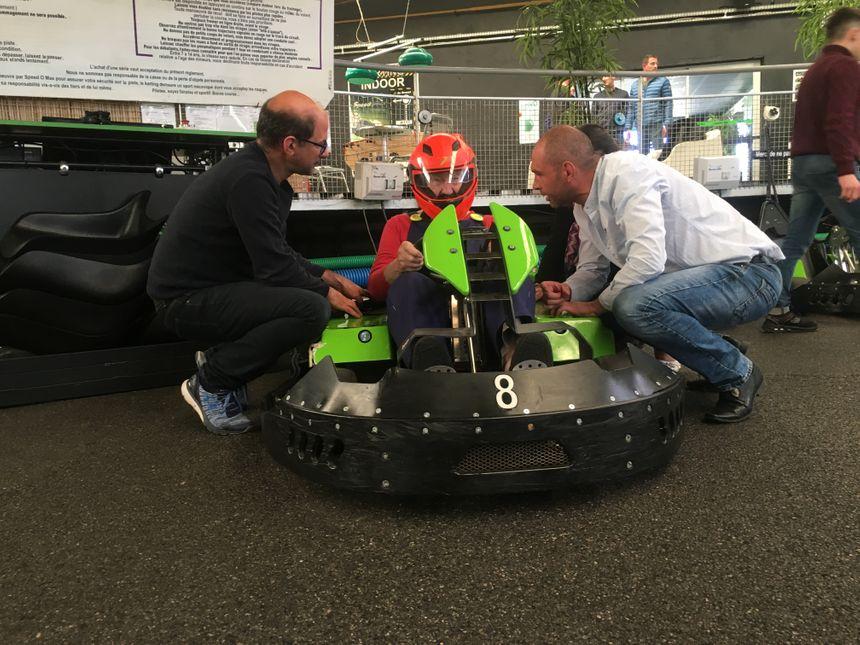 Pierre alias Mario, avant la course