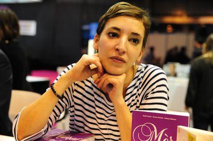 Nadia Daam, journaliste et écrivain le 25 octobre 2013 au Salon du Livre à Paris.