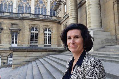 Gwenola Joly-Coz, présidente du TGI de Pontoise et co fondatrice de l'association Femmes de justice
