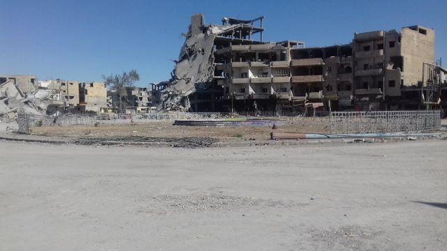 Raqqa, Syrie.