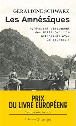 """""""Les Amnésiques"""" (coll. Libres Champs, Flammarion, 2019)"""