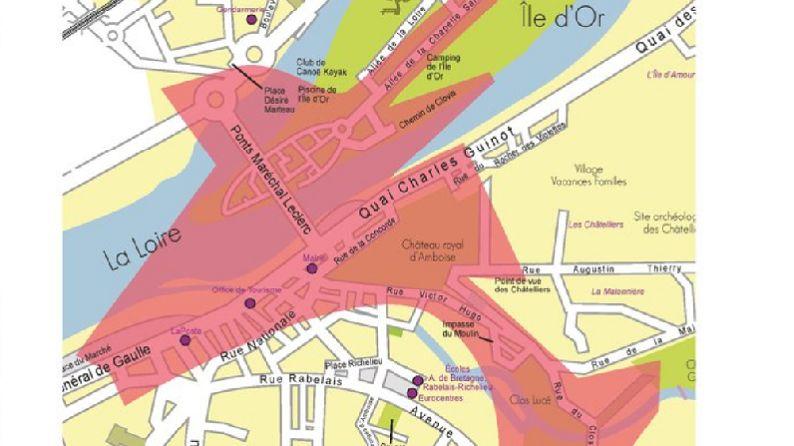 Le centre-ville d'Amboise sera interdit aux piétons de 7h à 13h le jeudi 2 mai pour la visite des présidents français et italiens