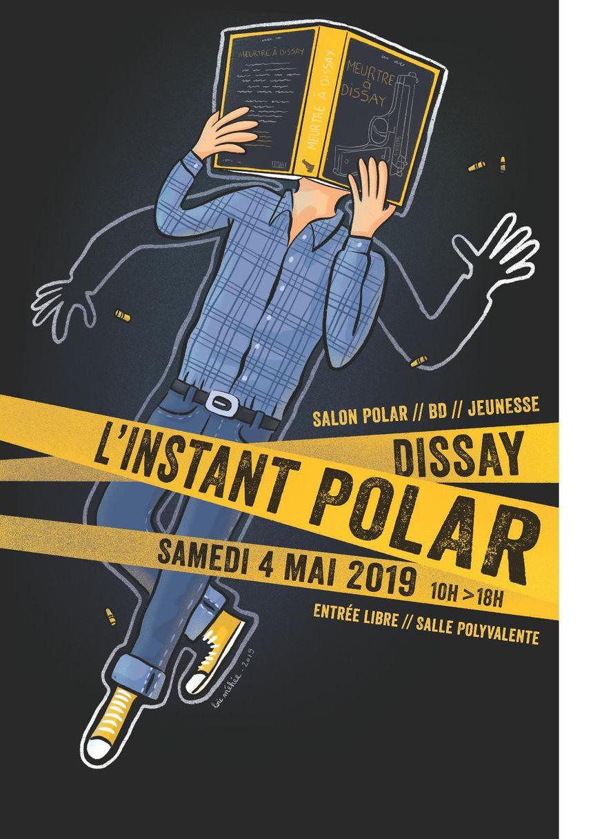 Le salon Polar / BD / Jeunesse apportera la conclusion de la seconde édition de l'Instant Polar à Dissay