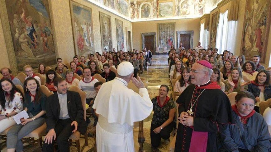 Le Pape François a rencontré les Landais ce jeudi matin au Vatican, en audience privée