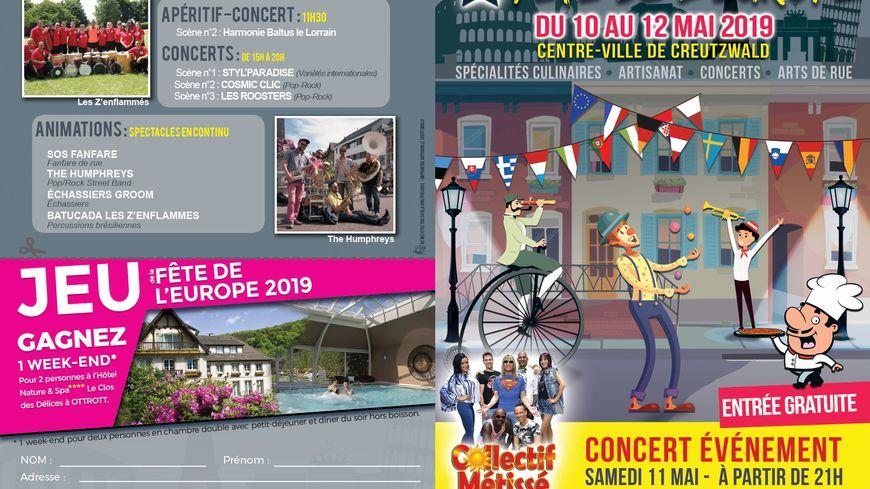 Venez fêter l'Europe à Creutzwald du 10 au 11 mai