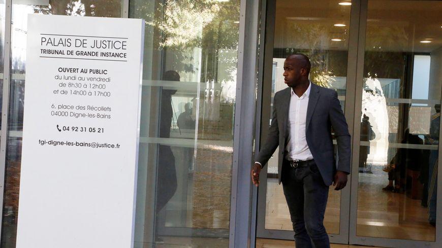 Souleymane Diawara au tribunal à Digne-les-Bains le 25 octobre 2018