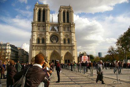 La cathédrale Notre-Dame en 2011