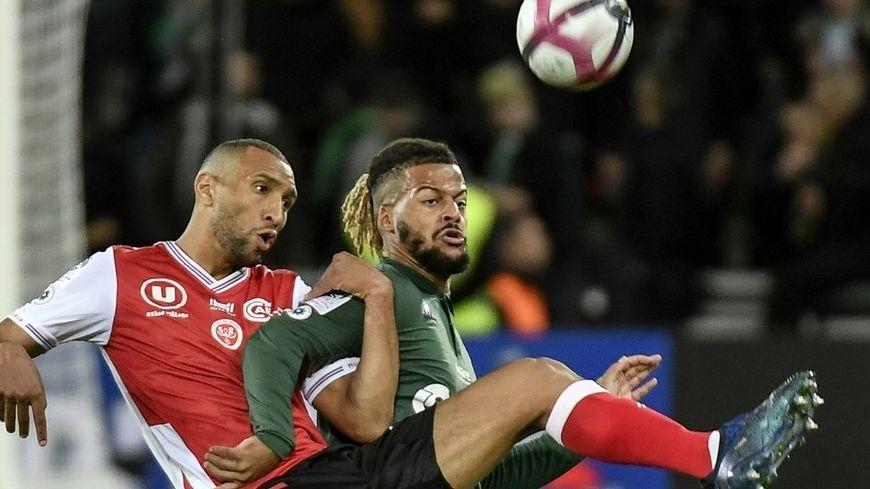 Au match aller à Saint-Etienne, les Rémois et Yunis Abdelhamid s'étaient inclinés 2 à 0.
