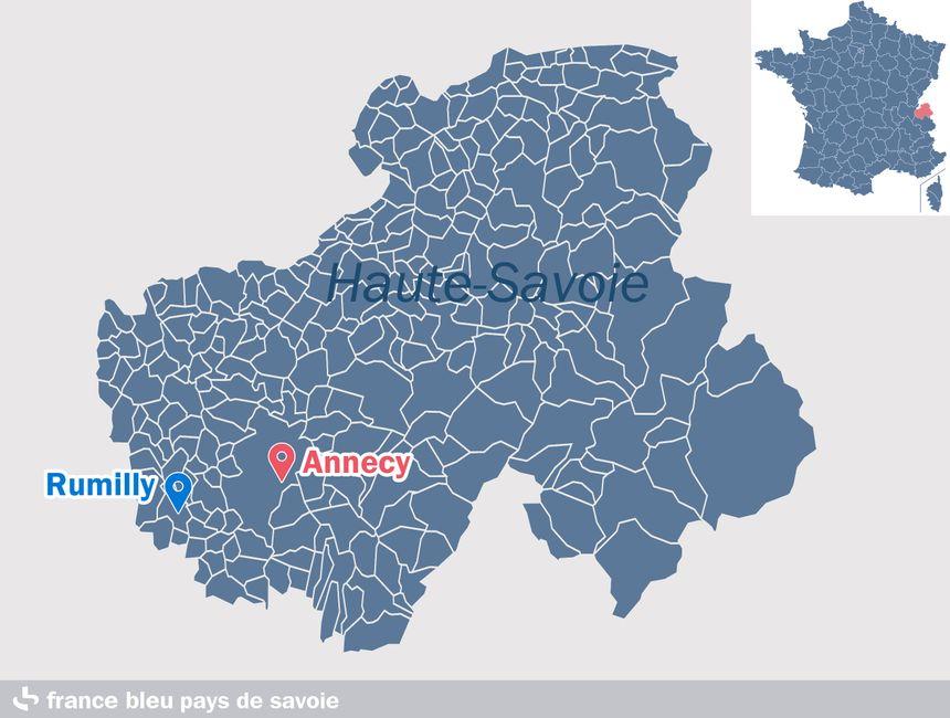 Rumilly, en Haute-Savoie