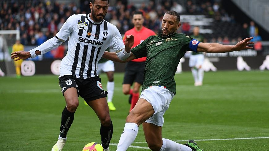 Yunis Abdelhamid aura été une des rares satisfactions du déplacement à Angers