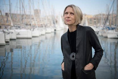 Macha Makeïeff, metteuse en scène de théâtre, créatrice de décors, costumes, et directrice du Théâtre de la Criée à Marseille, le 16 novembre 2018.