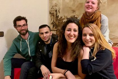 Une collocation Erasmus à Barcelone