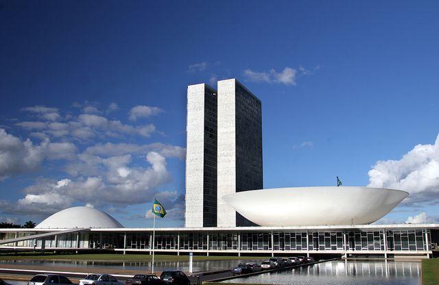 Le congrès brésilien, inauguré en avril 1960.