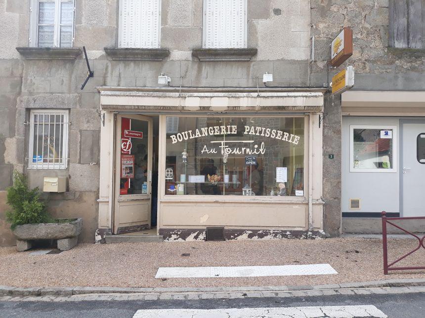 La dernière boulangerie de Bellegarde-en-Marche, près d'Aubusson