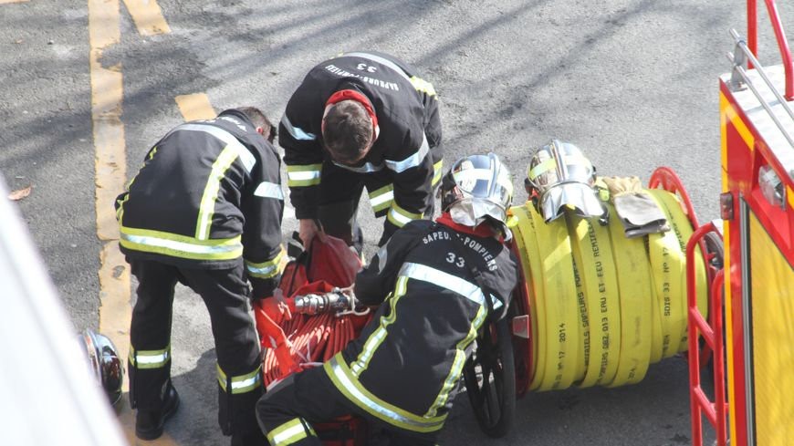 L'intervention des pompiers aura duré presque 24h chez Covex à Carbon-Blanc