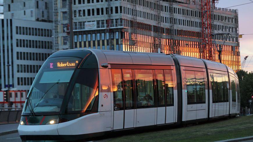 Le tram de Strasbourg