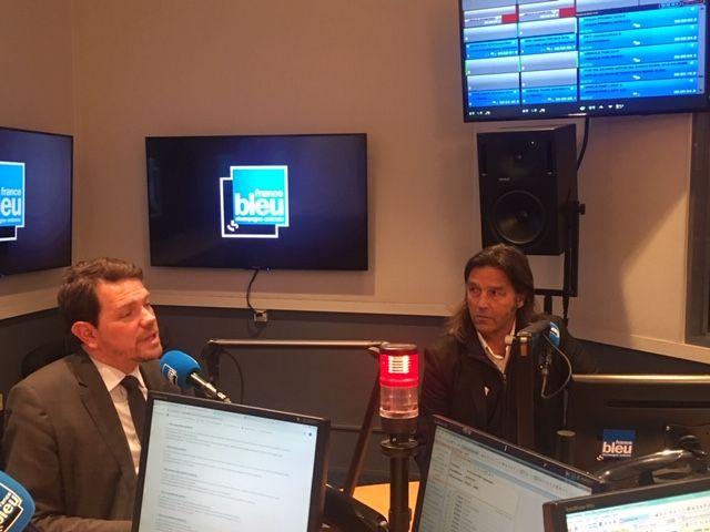 Boris Ravignon, maire LR de Charleville-Mézières et ChristopheDumiont, conseiller municipal d'opposition EELV