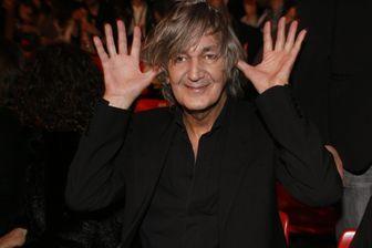 L'auteur-compositeur-interprète Jacques Higelin, le 8 mars 2008, aux Victoires de la Musique.