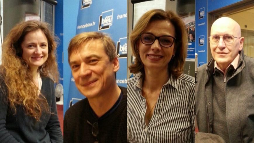 Charlotte Adrien, Nicolas Gény, Muriel Culmet, Alain Timar.