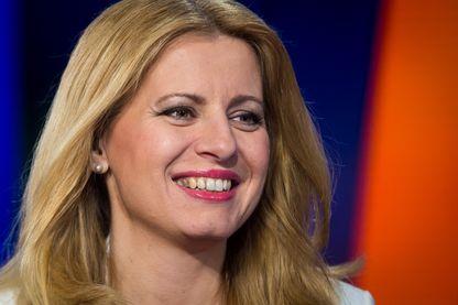 La nouvelle présidente de la Slovaquie, Zuzana Caputova, après son élection au deuxième tour, samedi 30 mars 2019.