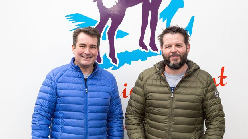 Christophe Chaperon et Cédric Garna ont eu l'idée de développer un réseau de fromageries en franchise