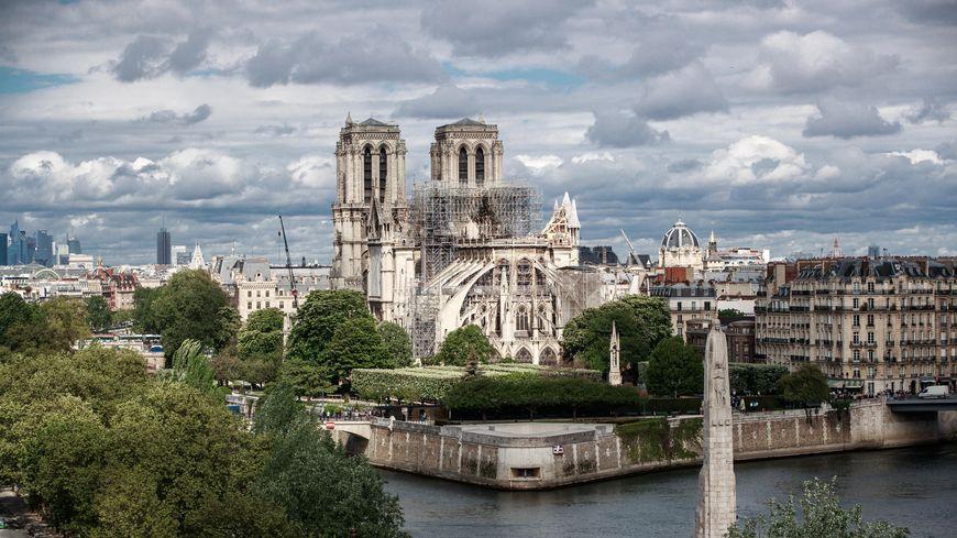 La cathédrale Notre-Dame de Paris, le 24 avril 2019