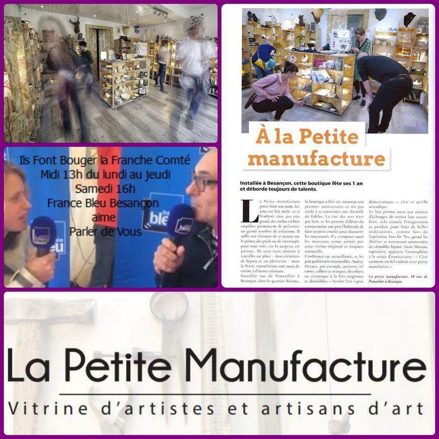 la petite Manufacture Besançon ils font Bouger la Franche Comté