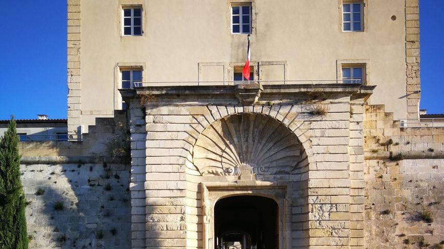 Porte à la coquille du Fort Vauban