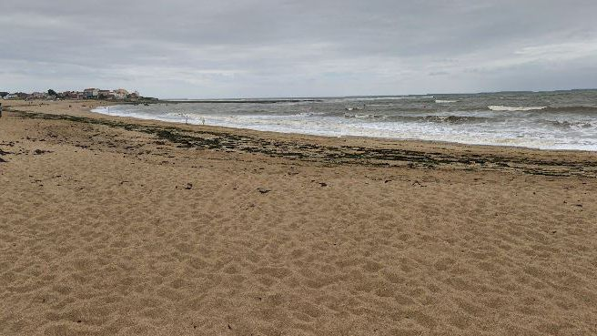 La plage de Saint-Hilaire-de-Riez
