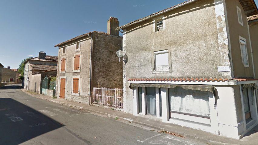 Illustration : l'ancienne boulangerie de Saint-Sauvant