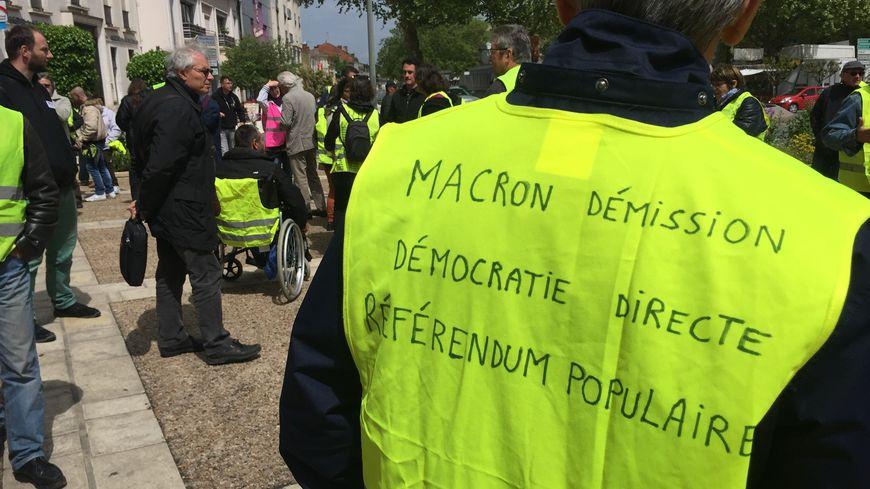 Les gilets jaunes ont manifesté ce samedi à Bergerac