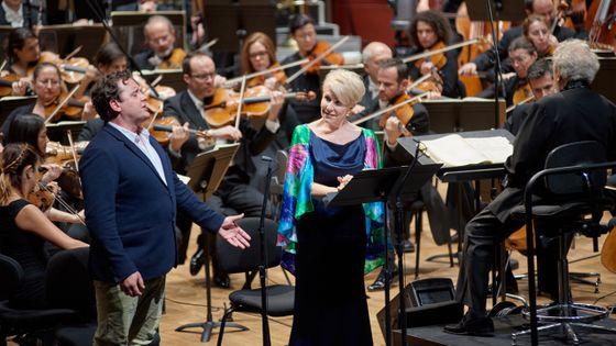 Michael Spyres, Joyce DiDonato et John Nelson, accompagnés par l'Orchestre philharmonique de Strasbourg