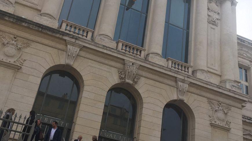 Le Tribunal de Nice dans la vieille ville.