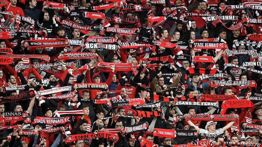 Les supporters du Stade Rennais