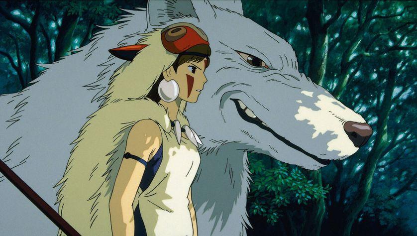 Philosopher Avec Miyazaki 3 4 Princesse Mononoké Au Pays