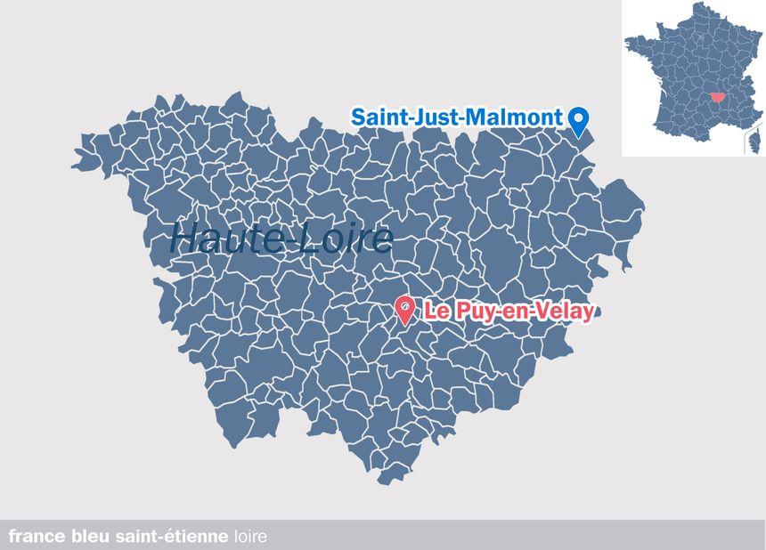 Saint-Just-Malmont, en Haue-Loire
