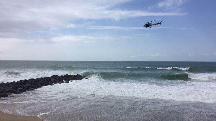 Les secours sont toujours à la recherche d'une personne disparue en mer à Anglet (photo d'illustration).