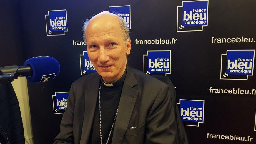 Monseigneur d'Ornellas, archevêque de Rennes, Dol et Saint-Malo.