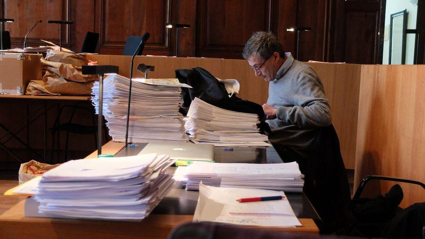 Alain Dreyfus-Schmidt à la Cour d'Assises de Vesoul