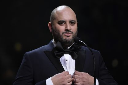 Jérôme Commandeur, humoriste et acteur pendant les César, le 22 février 2019.