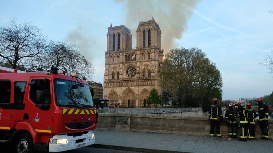 Incendie de Notre Dame de Paris. 15 avril 2019.
