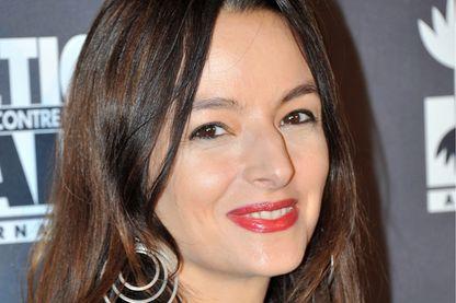 Éliette Abécassis, écrivaine, réalisatrice et scénariste le 21 novembre 2013 à Paris