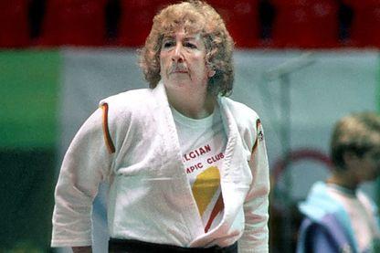 """""""Rusty"""" Kanokogi, """"la mère des femmes du judo"""" aux JO Séoul 1988"""