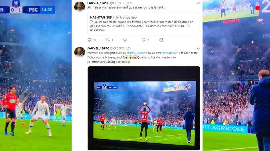 Le tweet de Christophe Fauvel