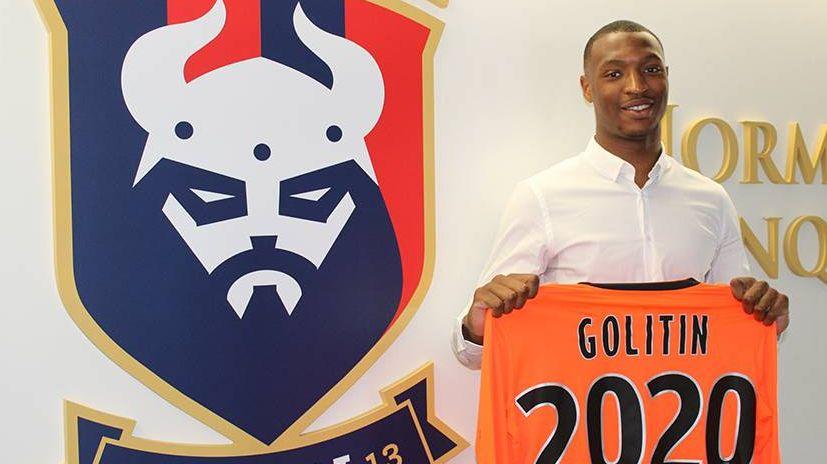 Marvin Golitin a signé une saison, plus deux en option